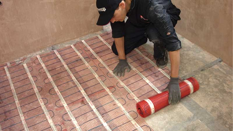 under tile heating